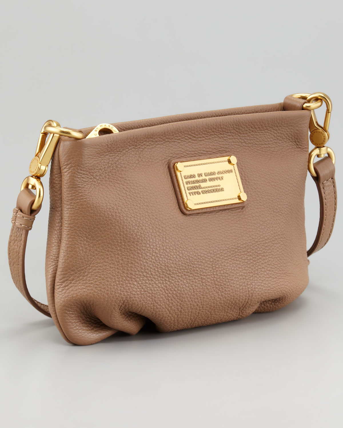 c41649555 Marc By Marc Jacobs Classic Q Percy Cross-body Bag in Brown - Lyst