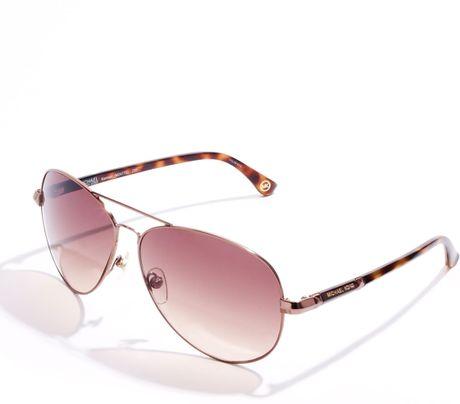 b22c8e82107 Michael Kors Sadie Sunglasses Rose Gold