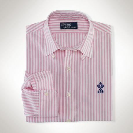 Мужская рубашка Ralph Lauren Polo Classic-Fit Poplin Stripe. - 13 ... b432fbd7d13e2