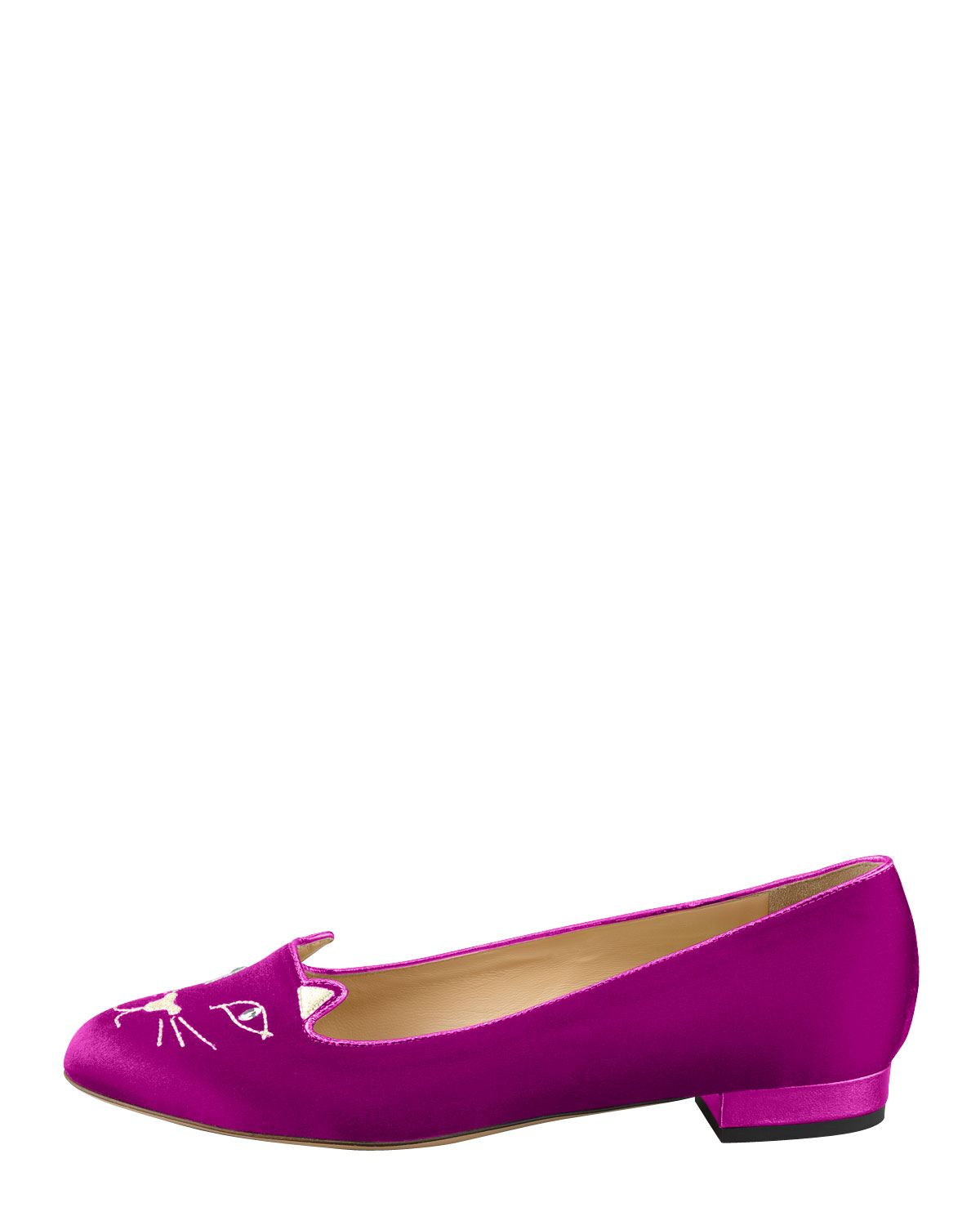 c0e6e1b015c Gallery. Previously sold at  Bergdorf Goodman · Women s Charlotte Olympia  Kitty ...