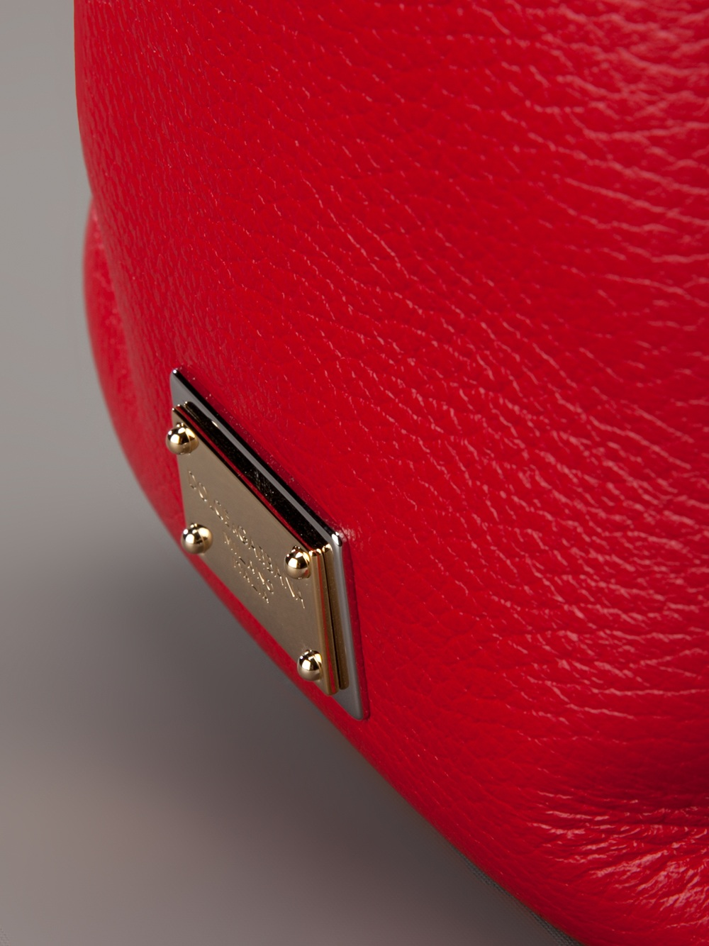 Dolce & Gabbana Flap Tote in Red