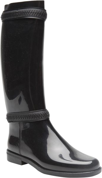 Givenchy Rubber Rainboots in Black