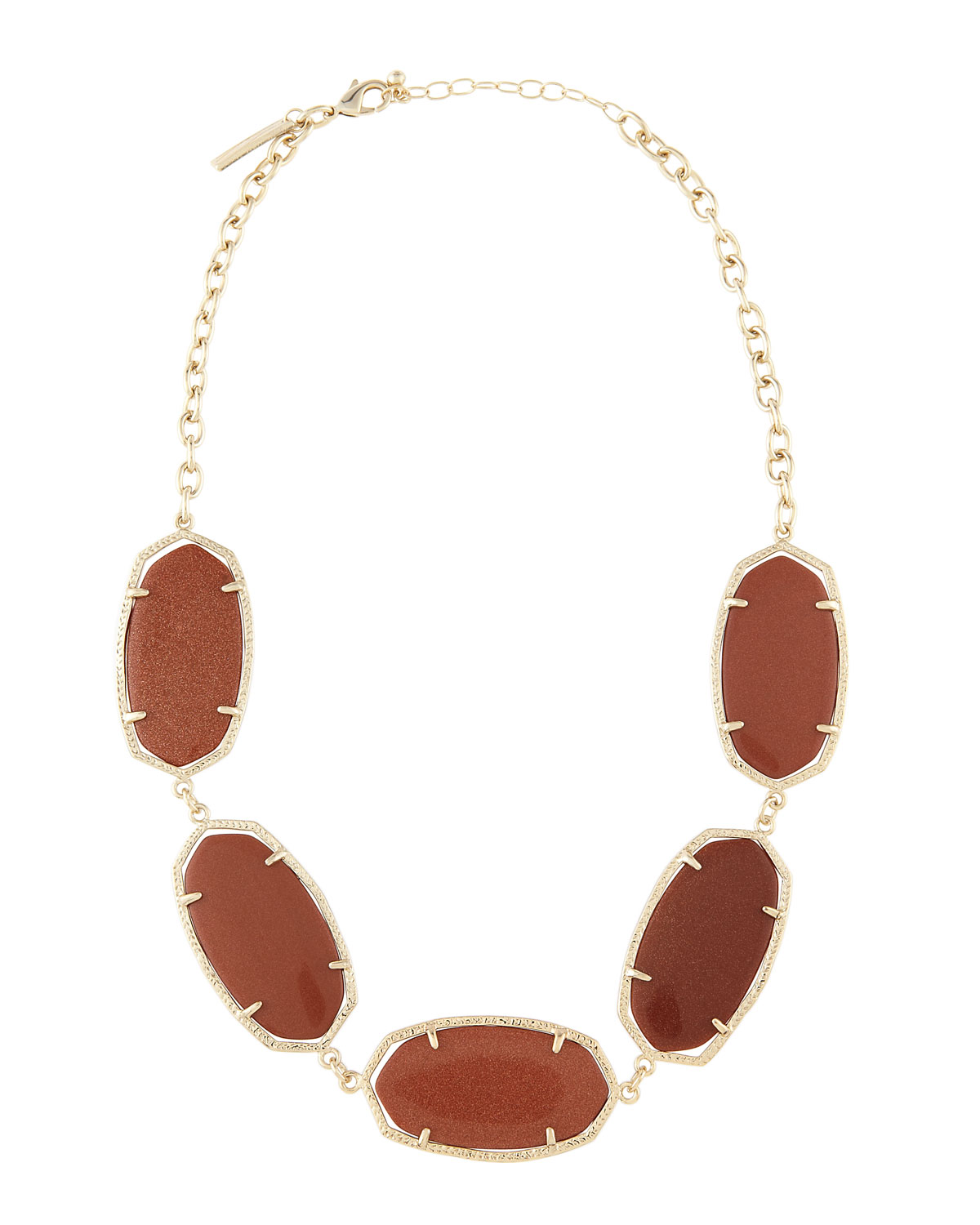 Lyst Kendra Scott Valencia Necklace In Brown