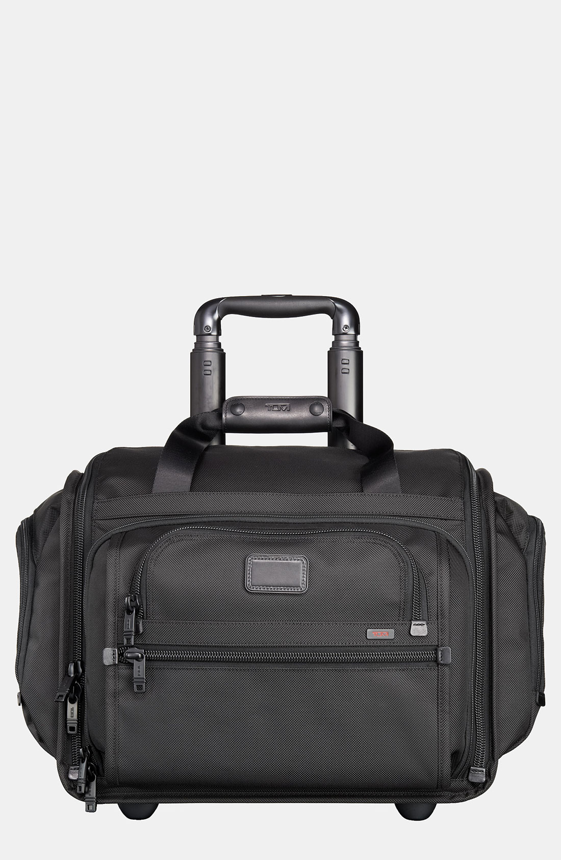 Tumi Alpha Collection Wheeled Duffel Bag In Black For Men
