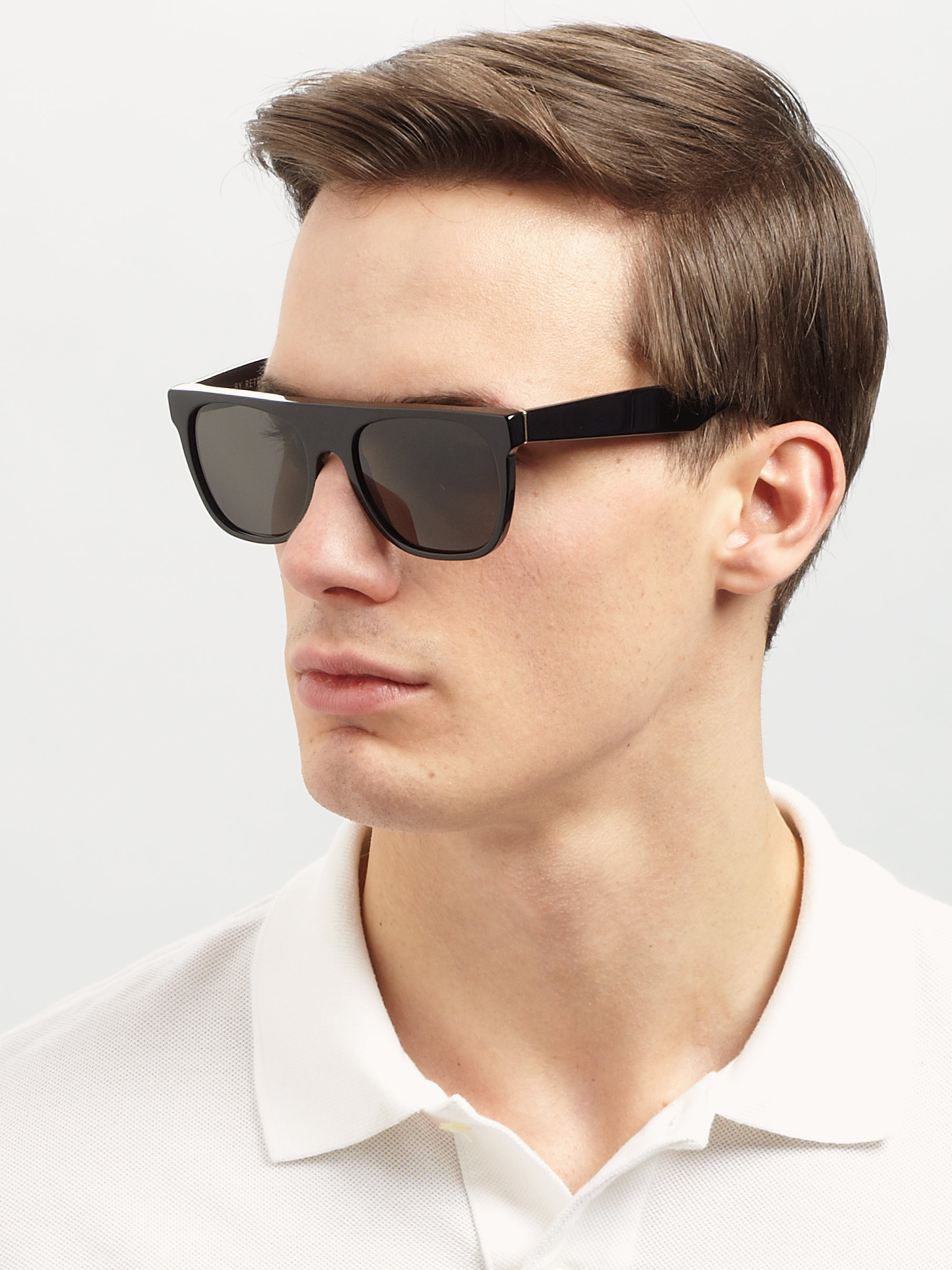 Sunglasses for Men. It's hard to pick our favorite sunglasses, but these are some of our top picks for our men's styles. You'll find polarized and mirrored lenses, and frames that are classic, trendy, or somewhere in between. All perfect for whatever view is in sight.