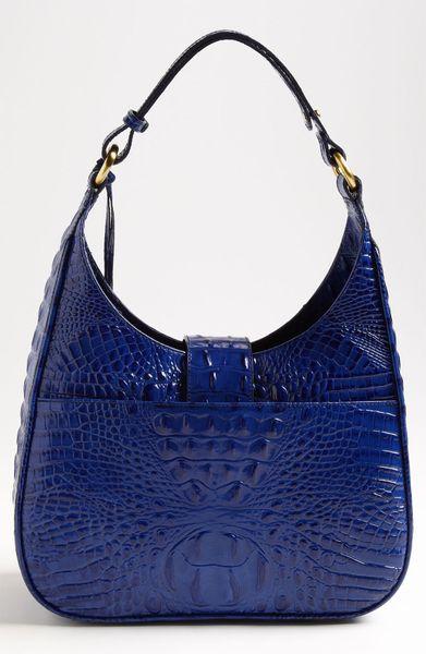 Brahmin Quinn Shoulder Bag in Blue (start of color list cobalt)