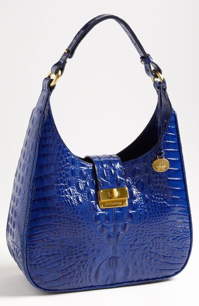 69cc39862 Brahmin Quinn Shoulder Bag in Blue (start of color list cobalt)