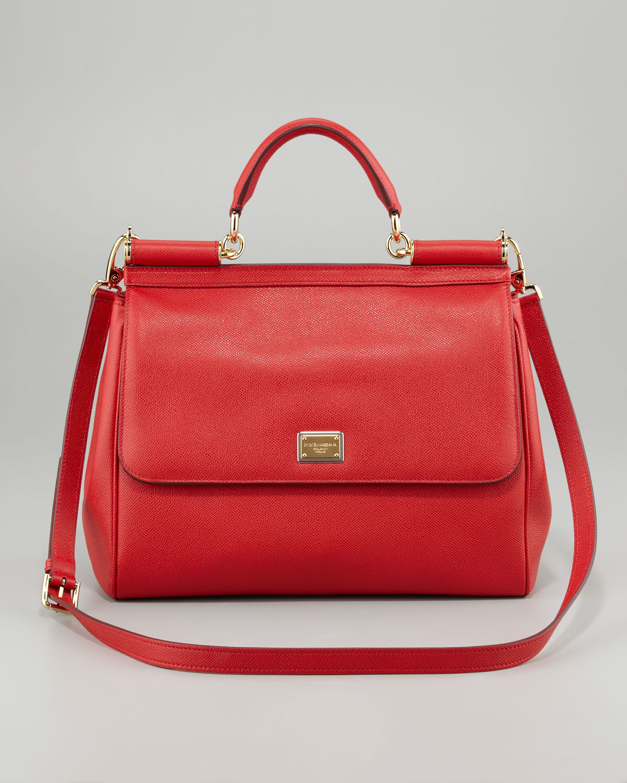 25eed657d0ab Dolce Gabbana Red Handbags