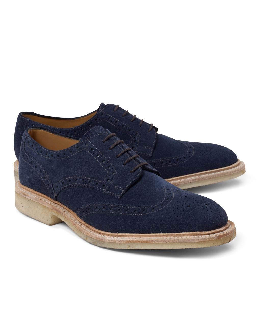 Mens Blue Suede Shoes Topman