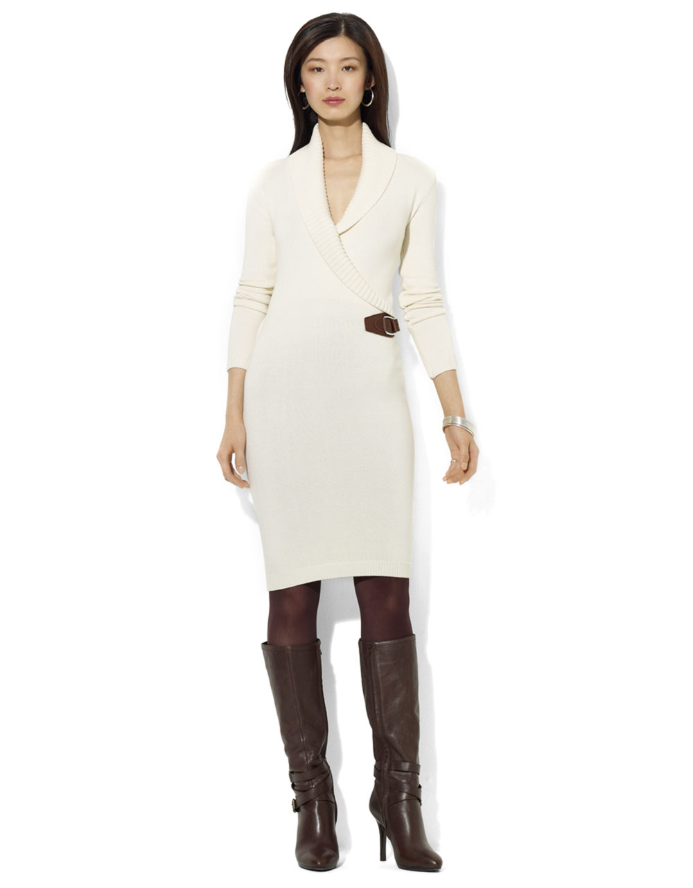 Calvin Klein Sweater Dress Ivory Shawl Collar Cable Knit Size Medim Buckle F1 See more like this. Custom Runway Women Shawl collar Dress Green Dresses Print Fashion Occident. Brand New · Unbranded. $ From China. Buy It Now +$ shipping. 12% off. SPONSORED.