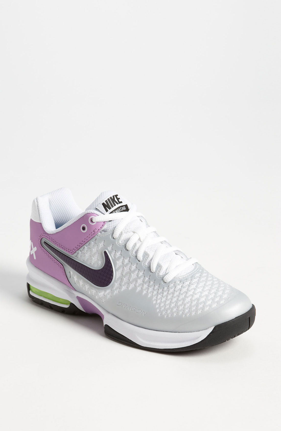 nuevas imágenes de muchos de moda descuento más bajo nike air max cage grey purple womens tennis shoes