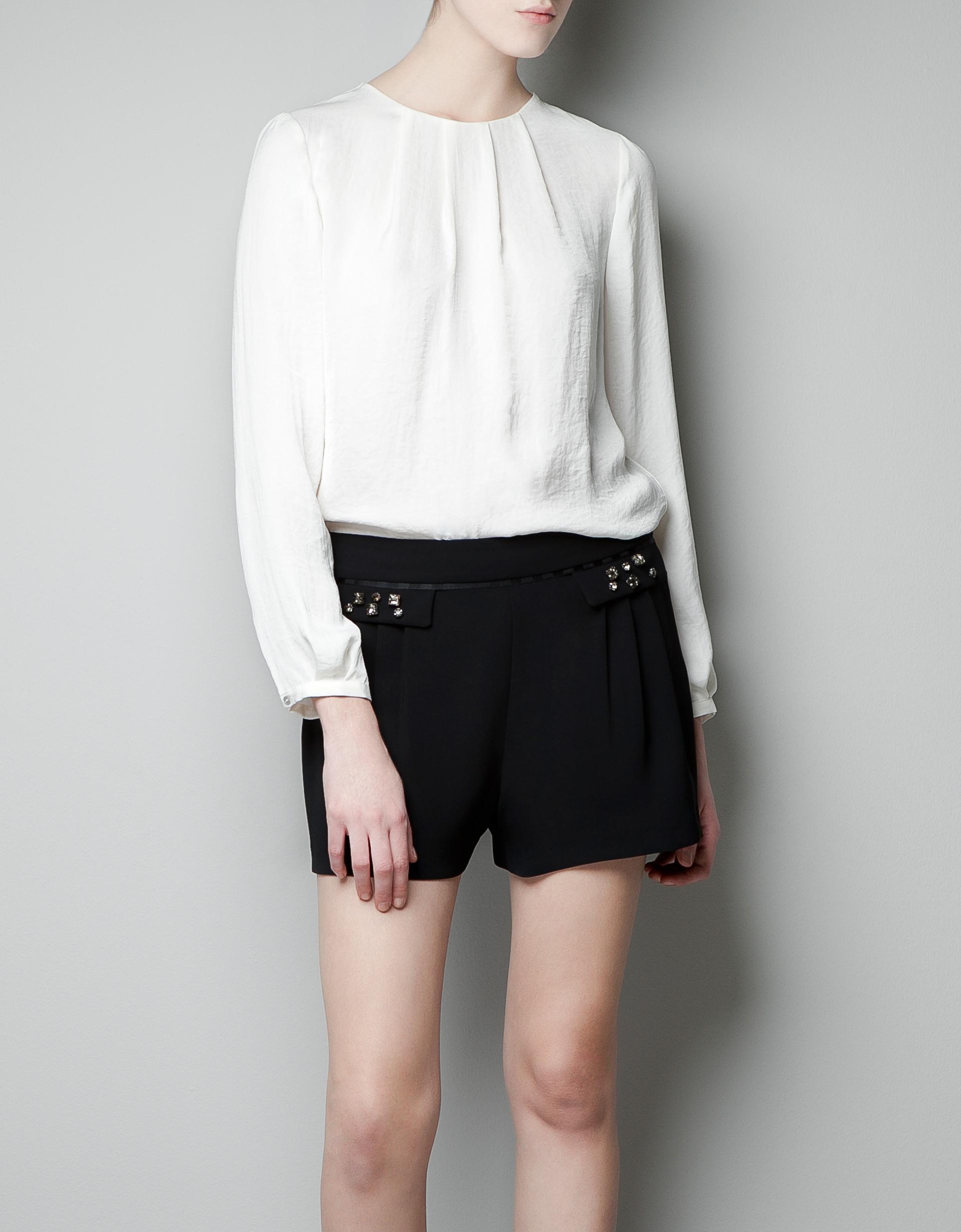Zara White Blouse 27