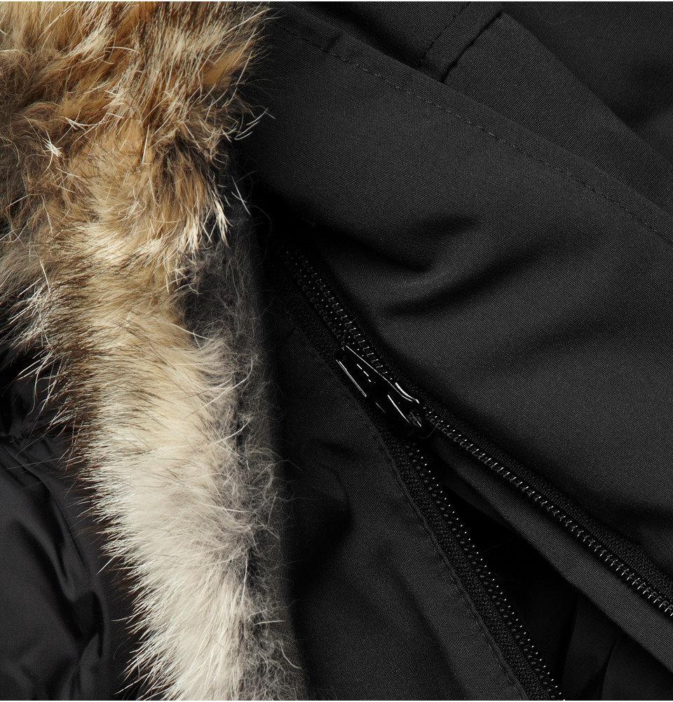 Canada Goose montebello parka outlet authentic - Canada goose 'chateau' Down Parka in Black for Men | Lyst