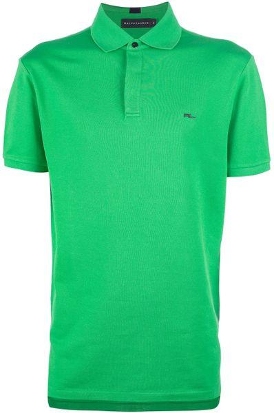 Ralph Lauren Polo Shirt in Green for Men