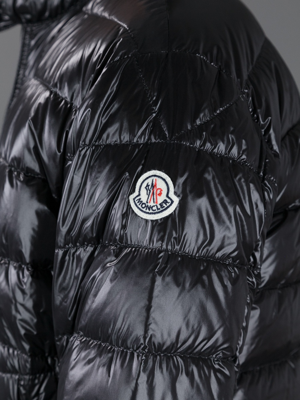 Moncler Acorus Padded Jacket in Black for Men