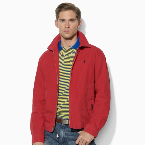adbfc4b57b Polo Ralph Lauren Red Shelburne Windbreaker for men