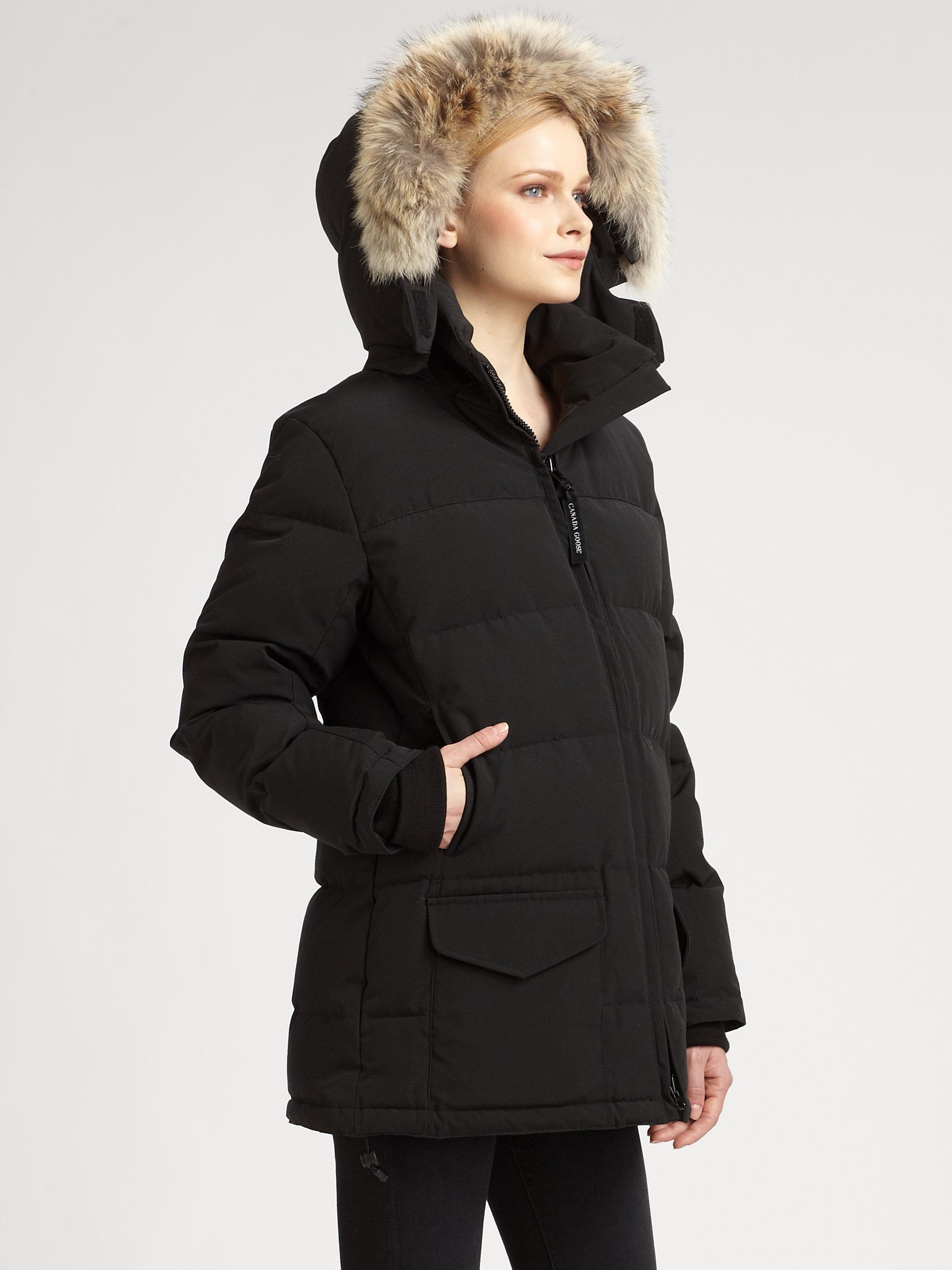 canada goose women's solaris parka jacket black