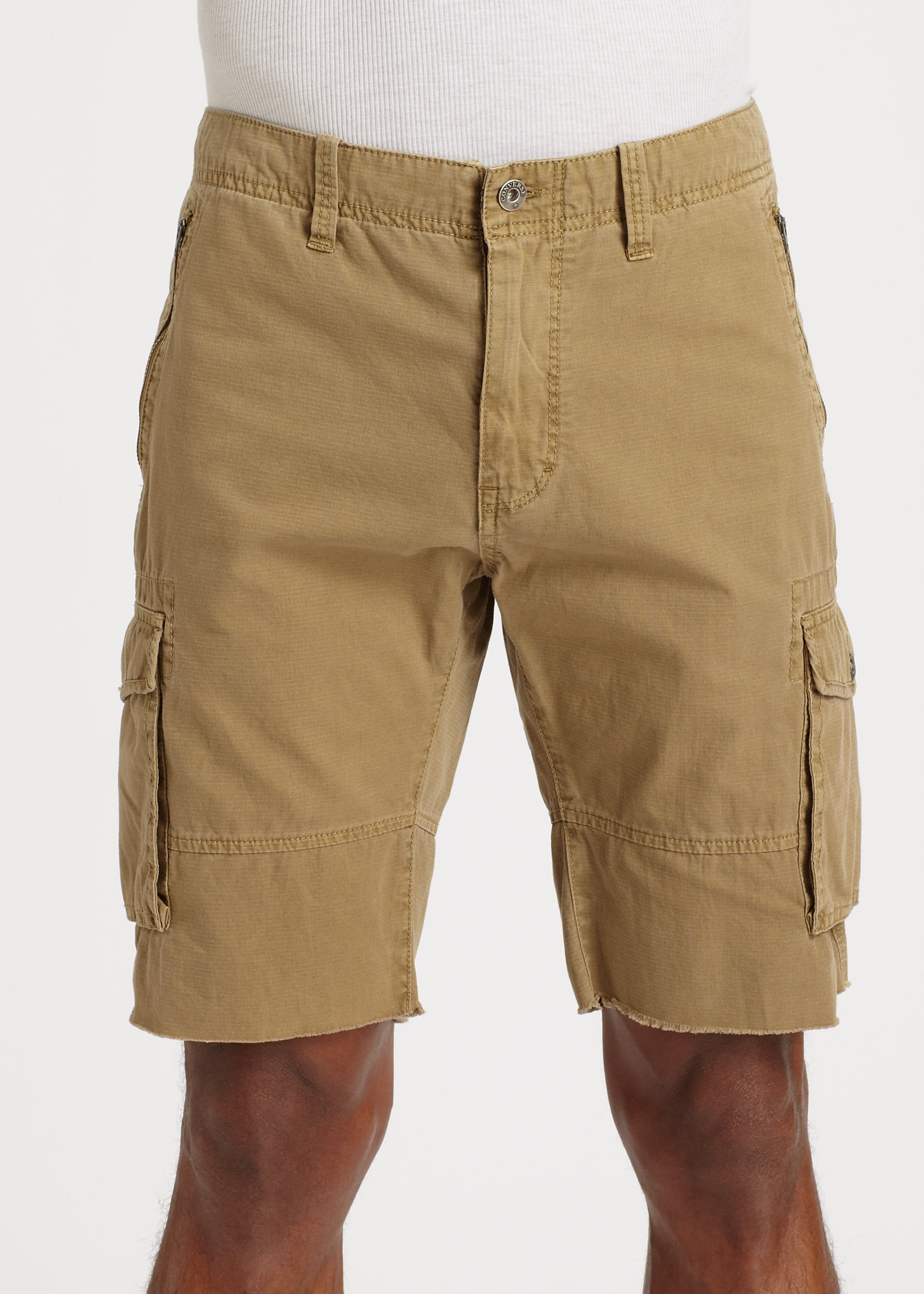 Lyst Converse Cargo Shorts In Brown For Men