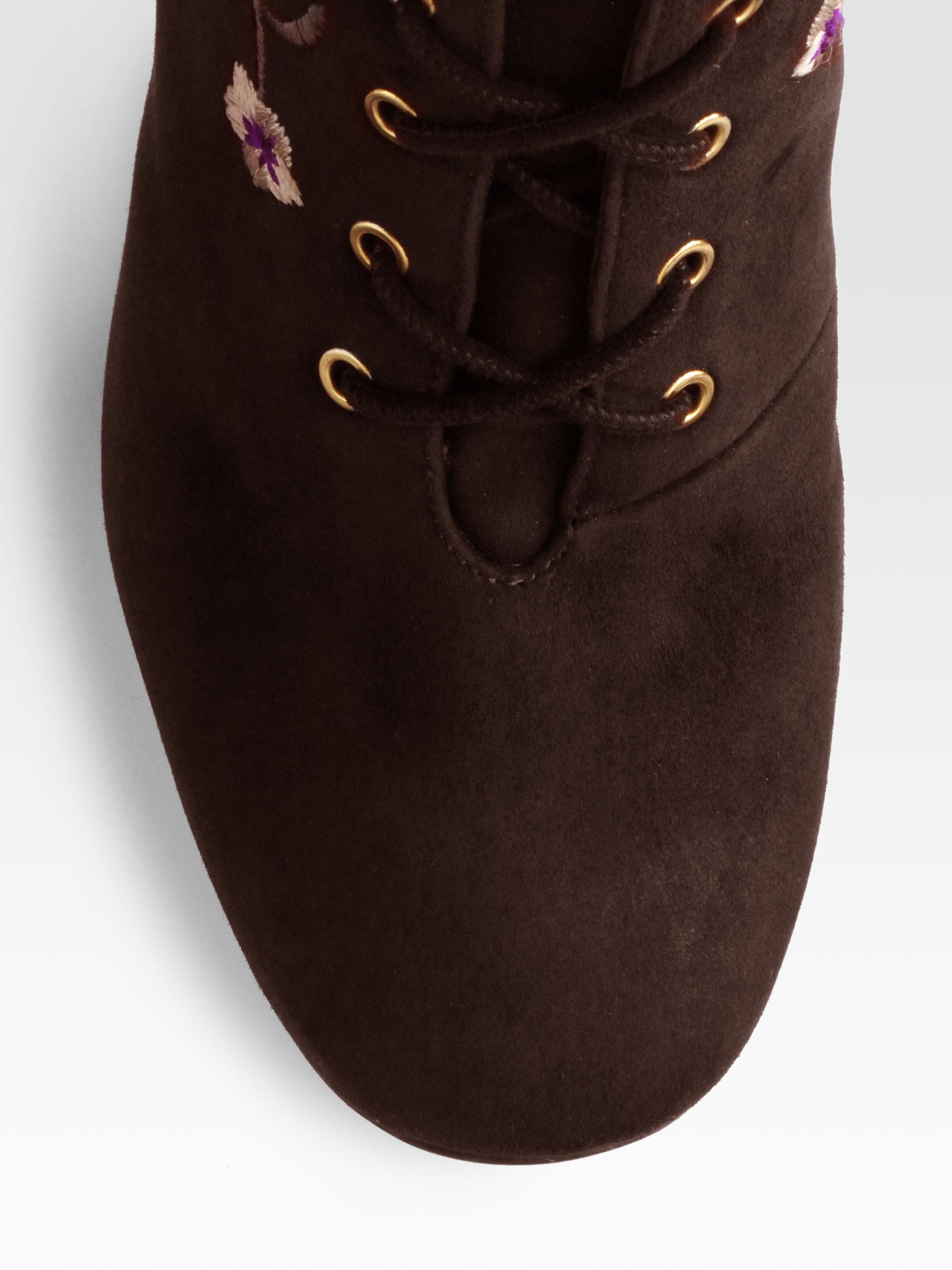 dd427454cc5 Lyst - Jimmy Choo Colorado Suede Kneehigh Laceup Boots in Black