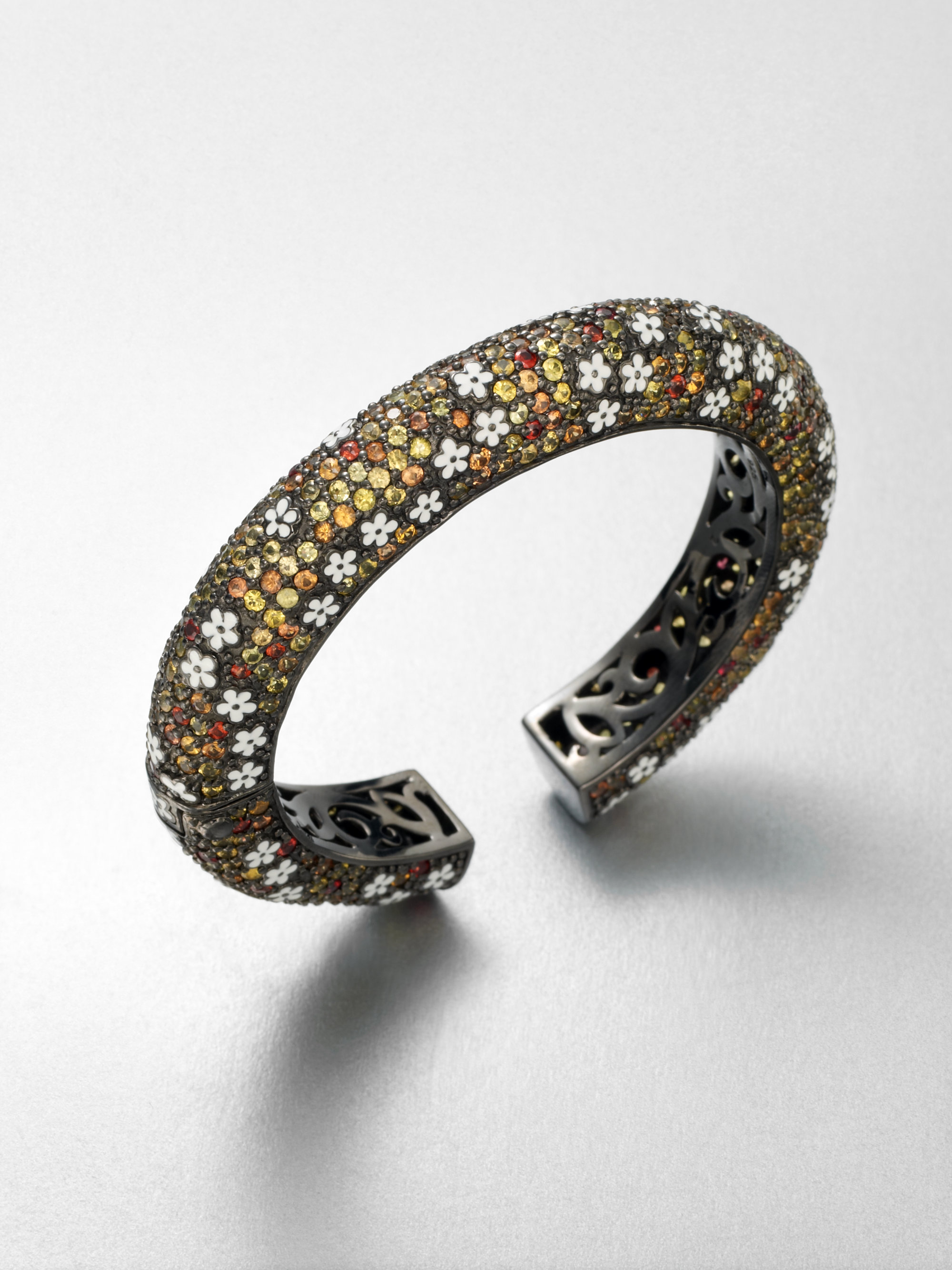 bracelet iii adjustable suzi a designs shop jewelry suzie sapphire slices past multicolored