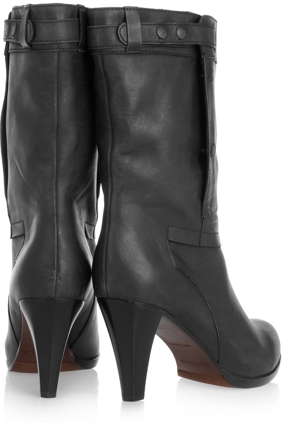 See By Chloé Kent Leather Boots in Black