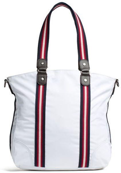 Tommy Hilfiger Amanda Tote Bag In White For Men Whisper