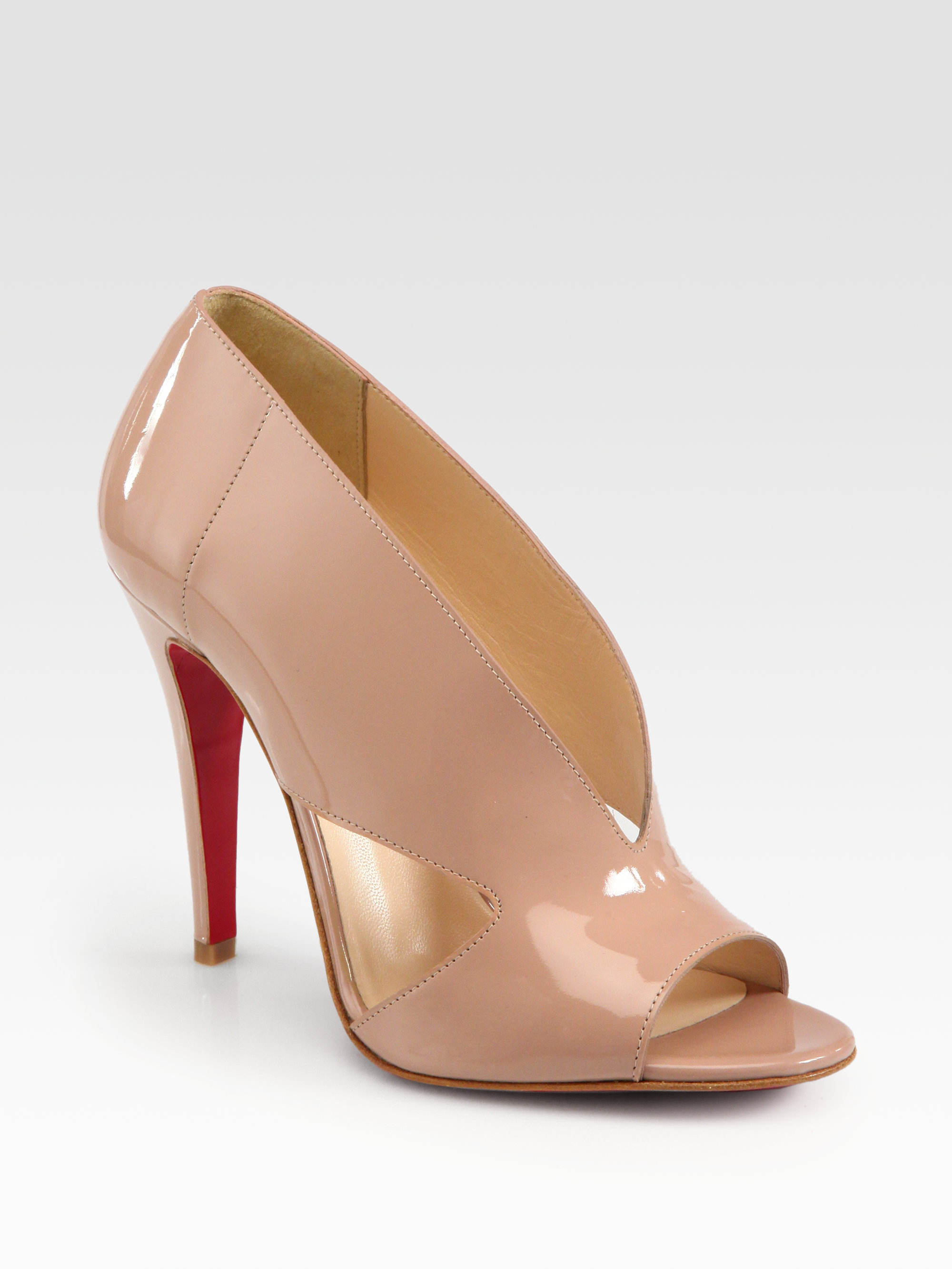 christian louboutin Ever Beige Patent Leather - Bbridges