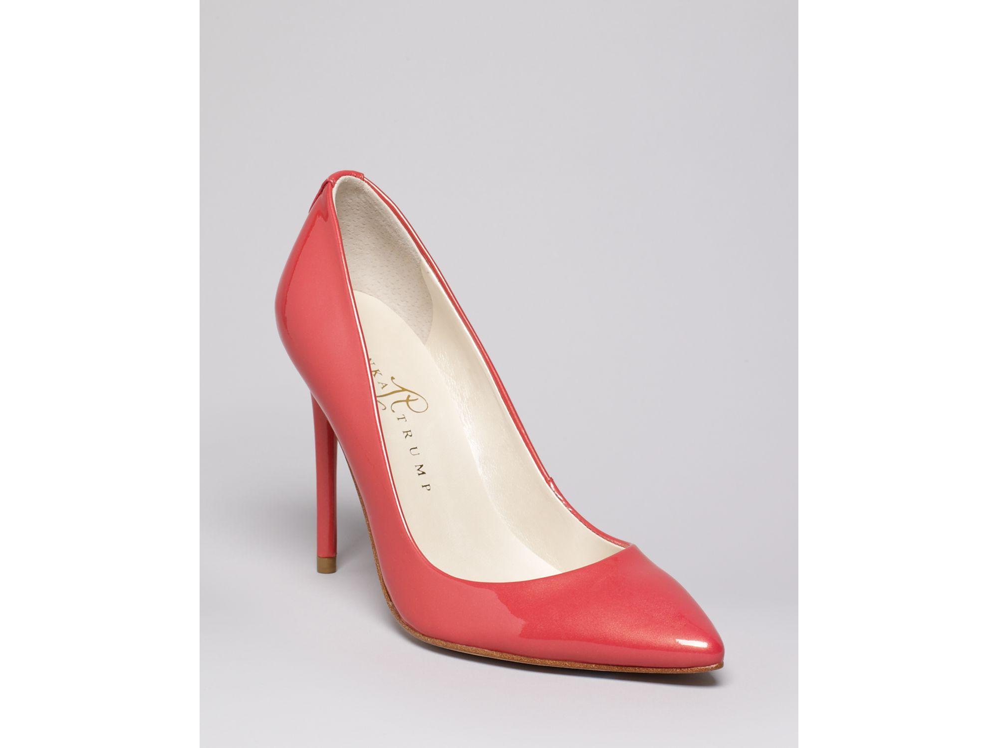 Lyst - Ivanka trump Pointed Toe Pumps Kayden3 High Heel in Pink