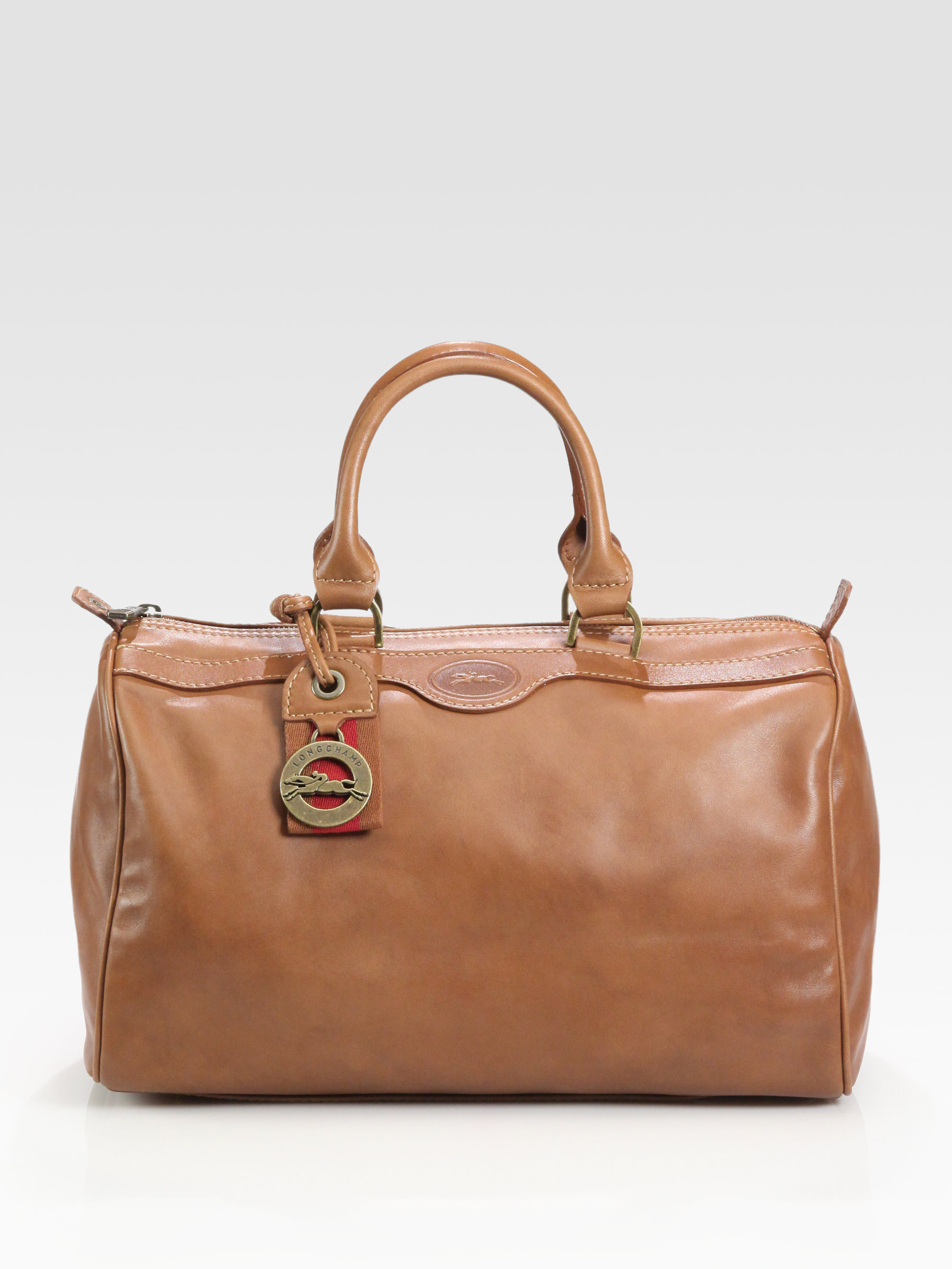 ec6ef66c4a3 Lyst - Longchamp Au Sultan Satchel in Brown