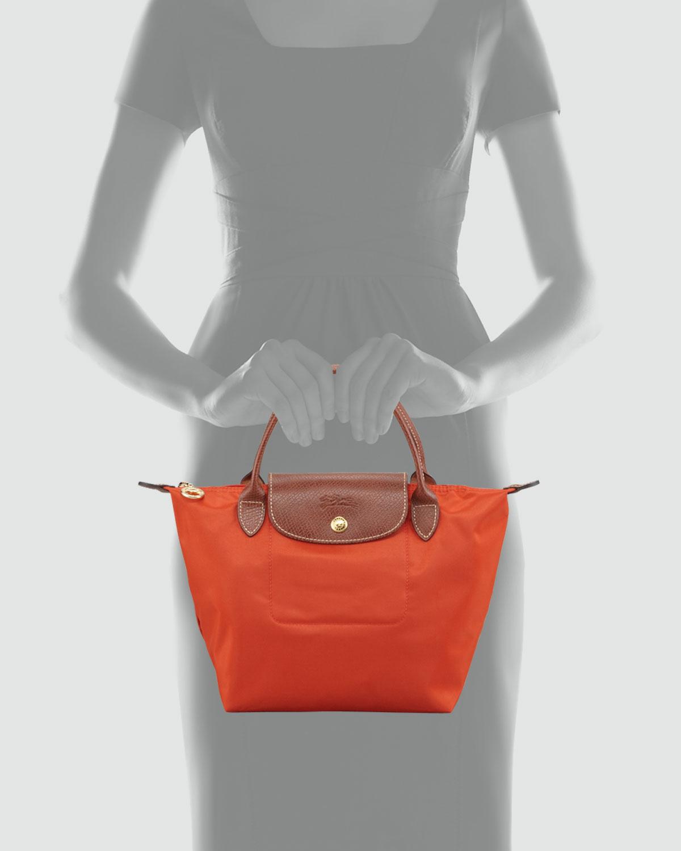 Longchamp Orange Bag