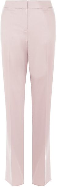 St. John Shelly Straight Leg Trousers - Lyst