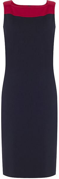 St. John Milano Knit Sheath Dress - Lyst