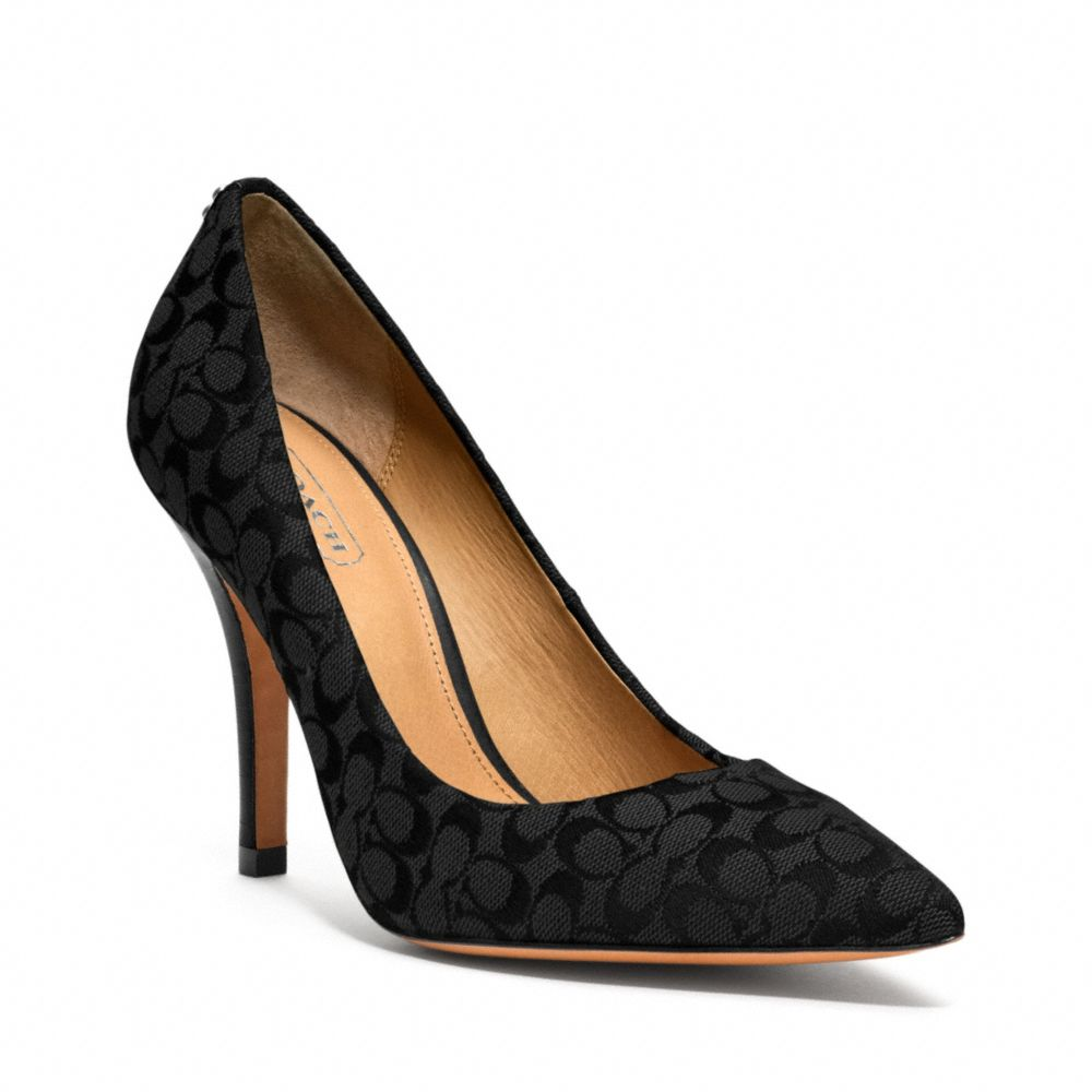 Coach Ellin Leather Pumps low shipping fee for sale buy cheap recommend cheap price top quality extremely outlet for nice OO70slwMi