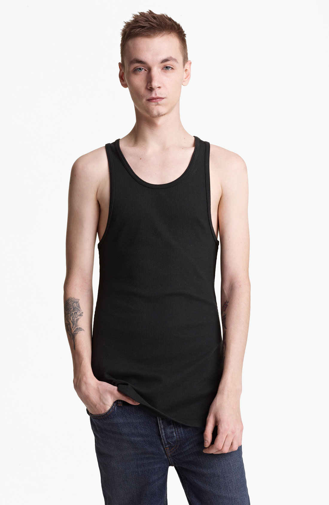 Find great deals on eBay for mens tank tops non ribbed. Shop with confidence.