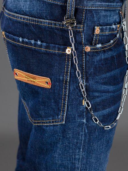 Dsquaredu00b2 Chain Jean in Blue for Men | Lyst