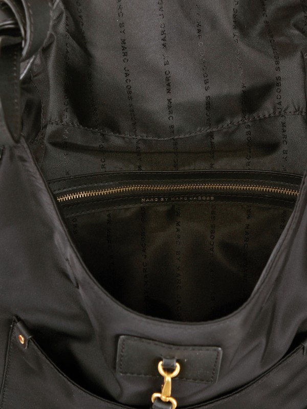 91d07d430fed Marc By Marc Jacobs Sasha Preppy Nylon Shoulder Bag in Black - Lyst