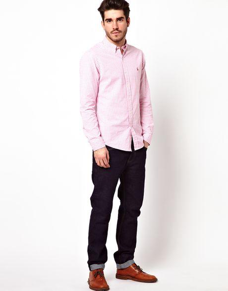 Ralph Lauren Pink Oxford Shirt Polo Ralph Lauren Shirt in