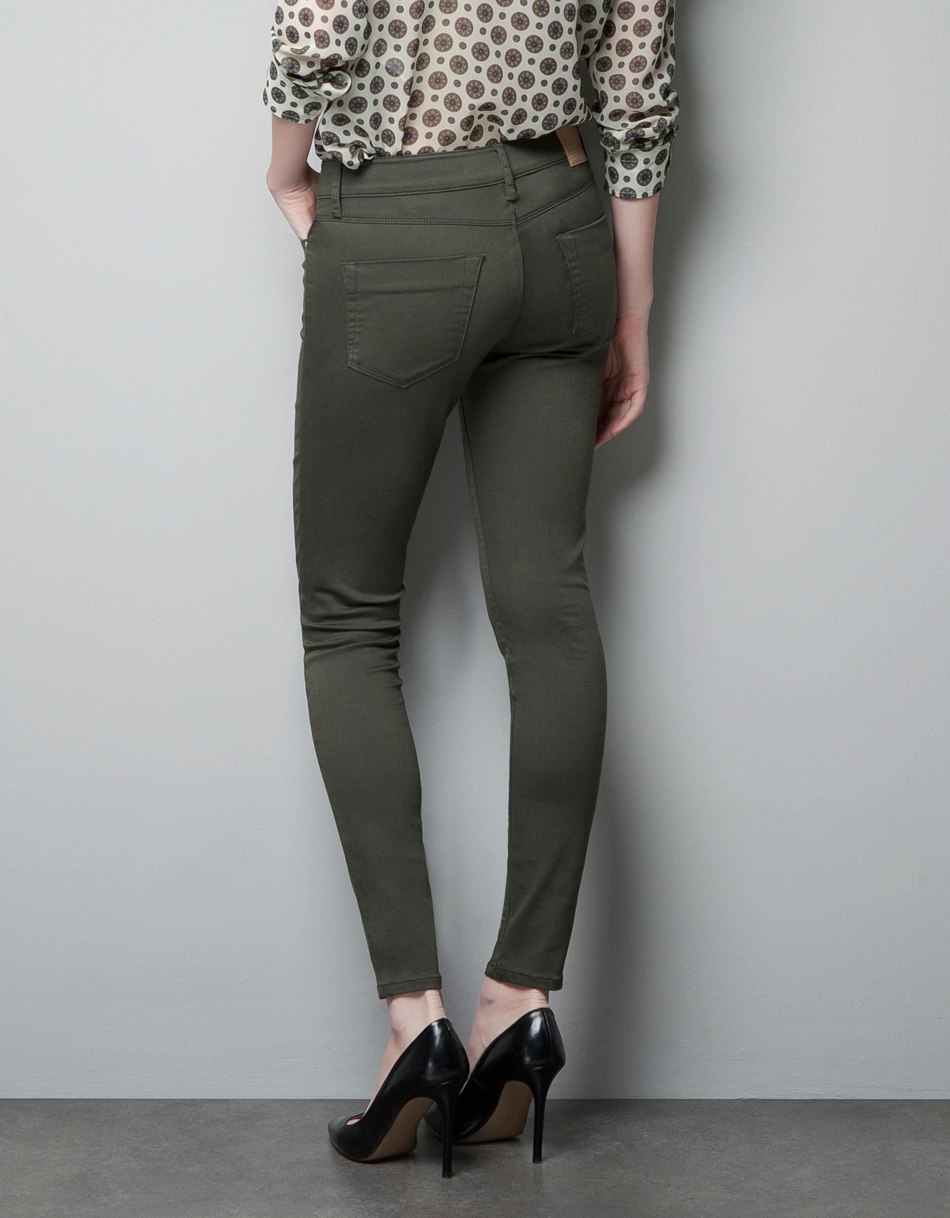 dark khaki pants for women - Pi Pants