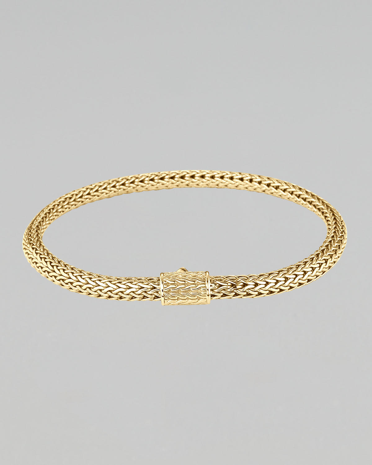 Lyst John Hardy Extra Small Gold Chain Bracelet In Metallic