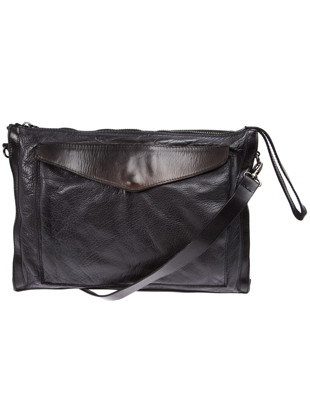 54da81f086 Numero 10 Cruzeiro Cross Body Bag in Black for Men