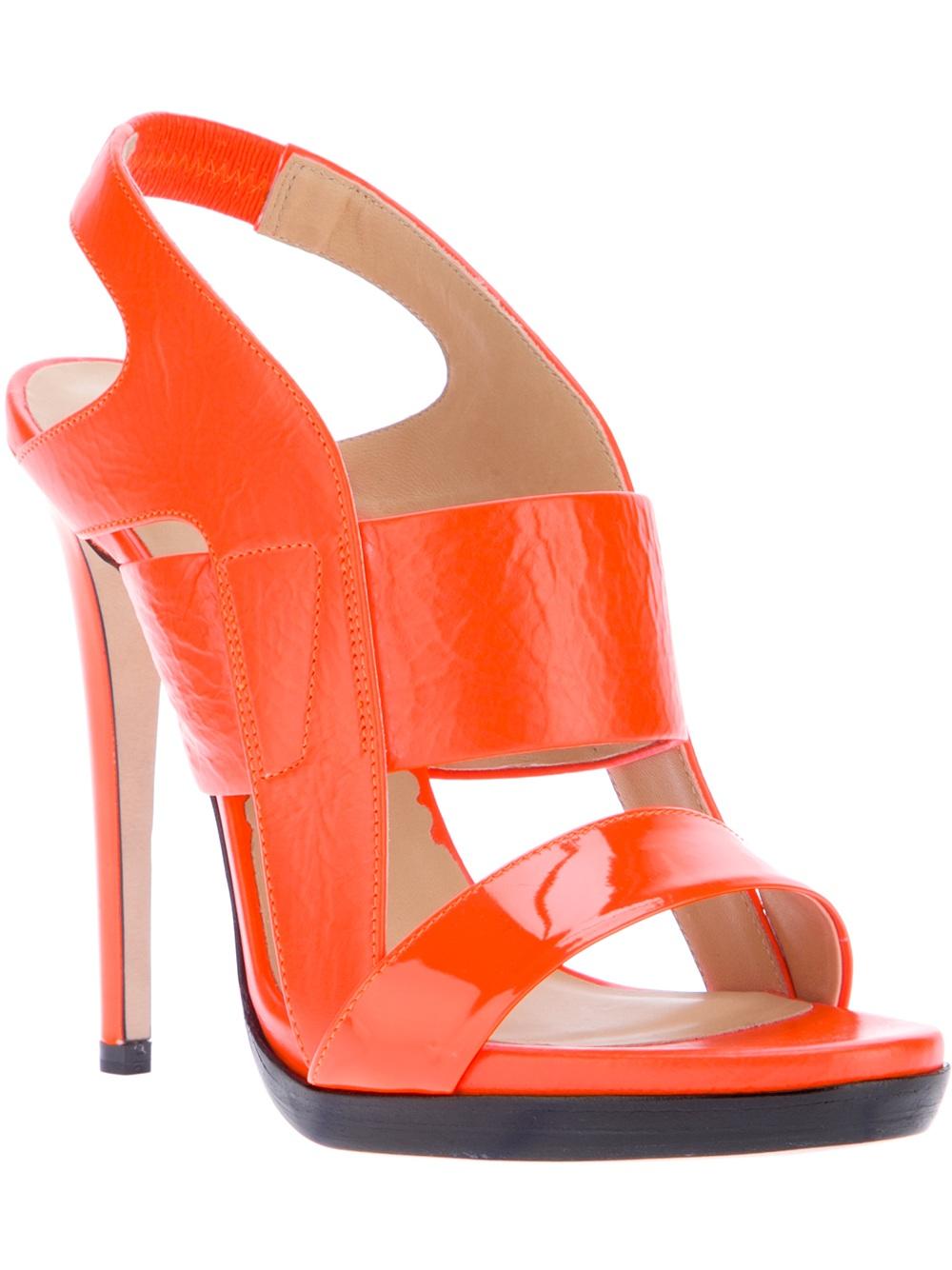 Orange Wedding Shoes Uk