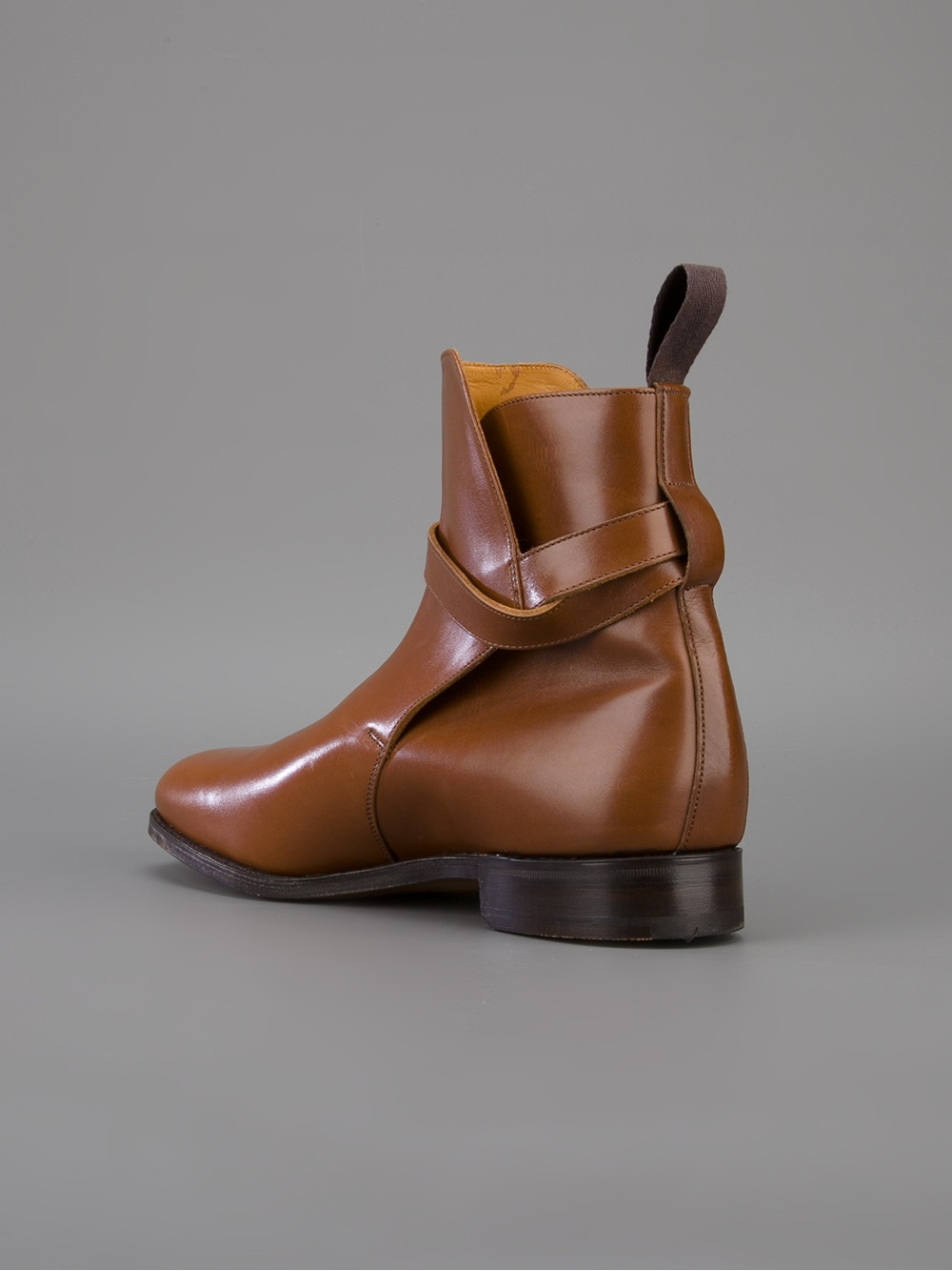 Lyst Tricker S Chepstow Leather Boot In Brown For Men