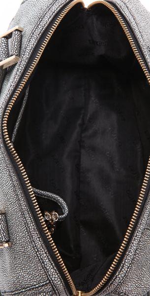 Botkier Valentina Luxe Box Satchel In Gray Lyst