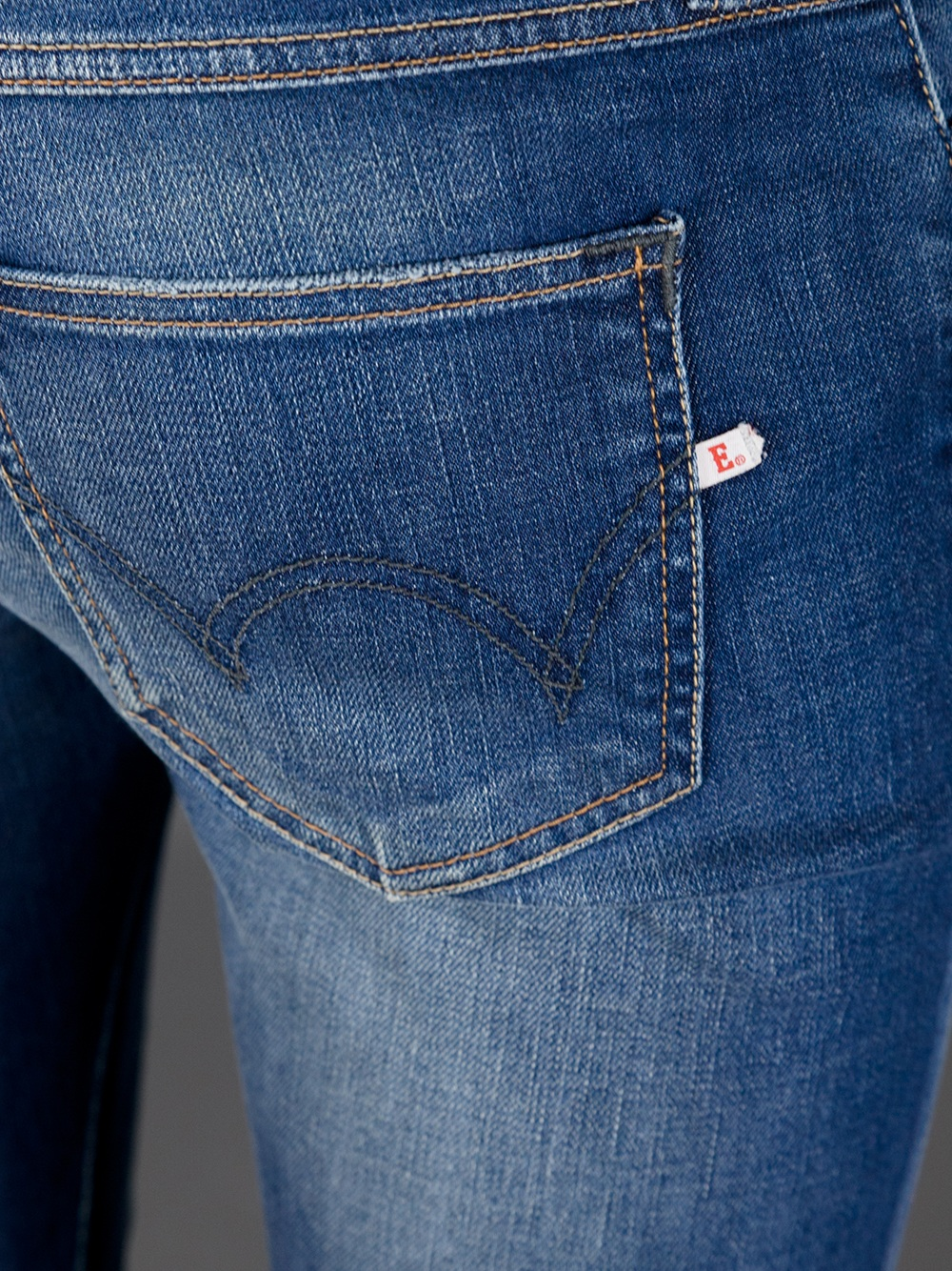 Edwin Rustler Slim Wash Jean in Blue for Men