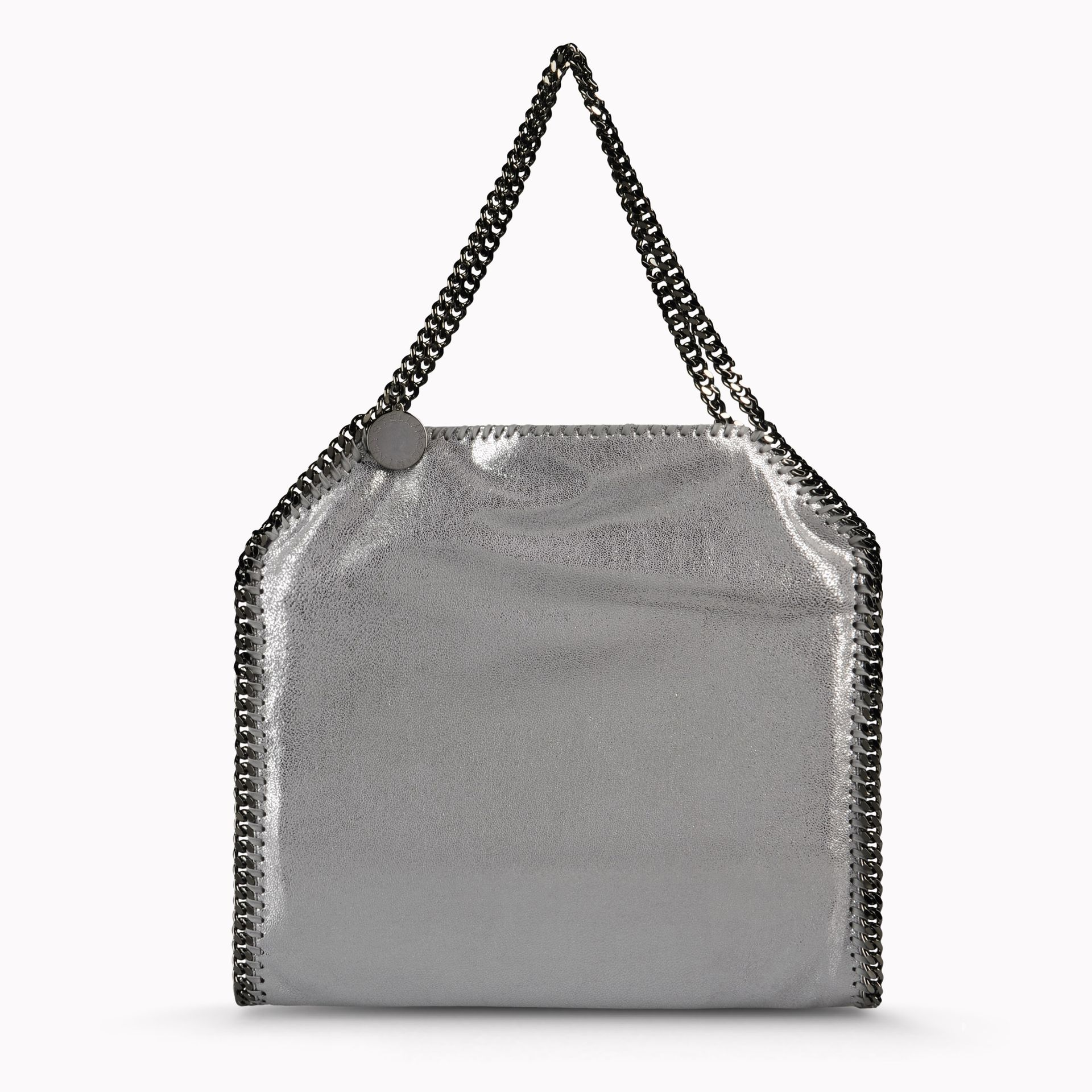 cb1f030219 Stella McCartney Falabella Chamois Small Tote in Gray - Lyst