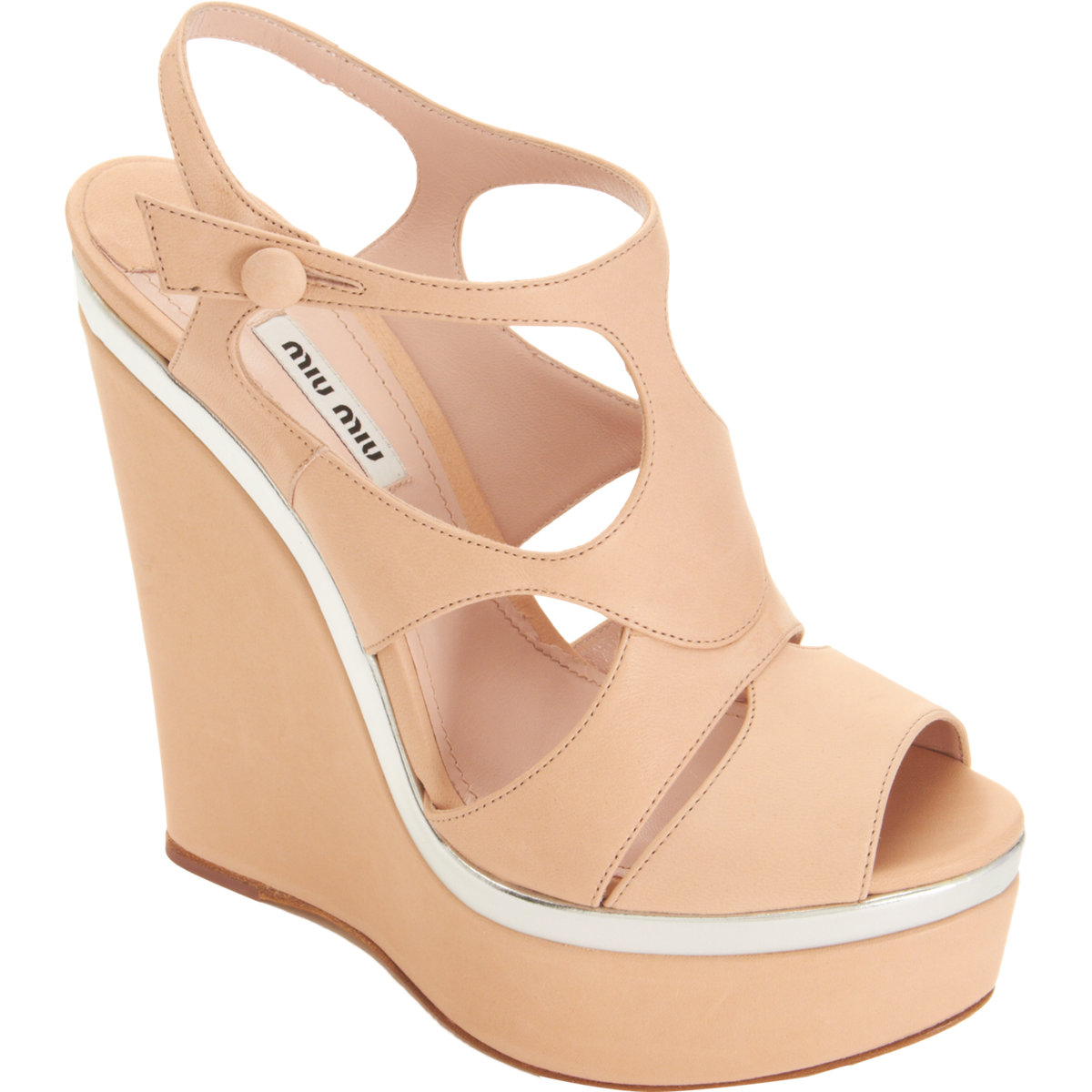 Miu Miu Platform Court Shoes