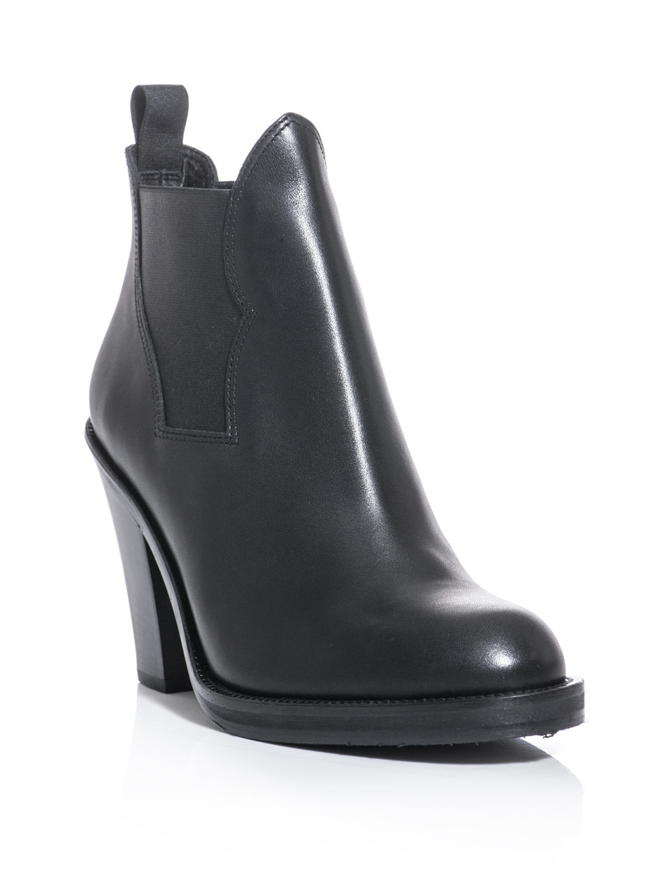 acne studios ankle boots in black lyst. Black Bedroom Furniture Sets. Home Design Ideas