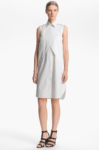 Alexander Wang Double Layered Shirt Dress - Lyst