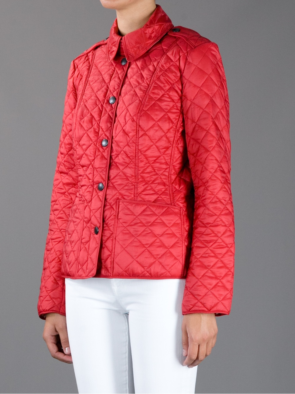 Women's Quilted Jackets Lady-like chic in one easy step. Steal the Duchess of Cambridge's style with a classic look, beautifully executed jackets by Barbour, Joules or Lavenham.