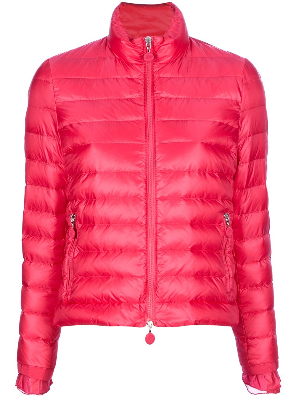 Pink North Face Jacket
